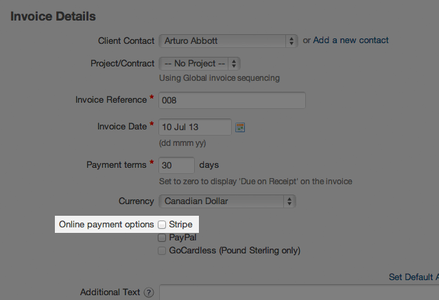 Paid In Full Receipt Template Word Receiving Invoice Payments  Stripe  Freeagent Support Receipt Of Delivery Excel with Key Receipt Form When You Are Emailing Your Invoice Include An Onlinepaymentlink Tag In  The Body Of The Email This Will Embed An Online Payment Link In The Email  That  Pasta Receipt Excel