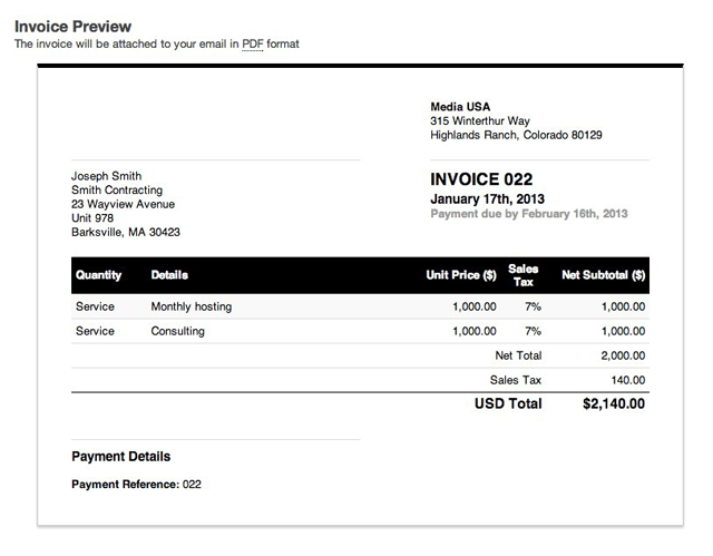 Charming Preview_for_sending Idea How To Send Invoices