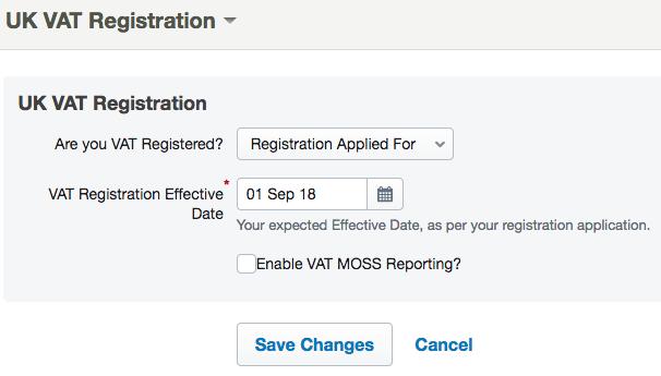Waiting for your VAT registration number – FreeAgent